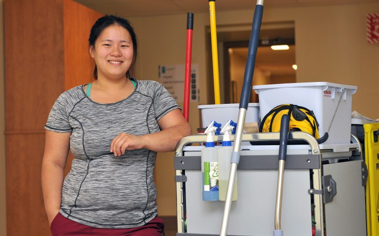 Préposés/Préposées à l'entretien ménager et au nettoyage - travaux légers